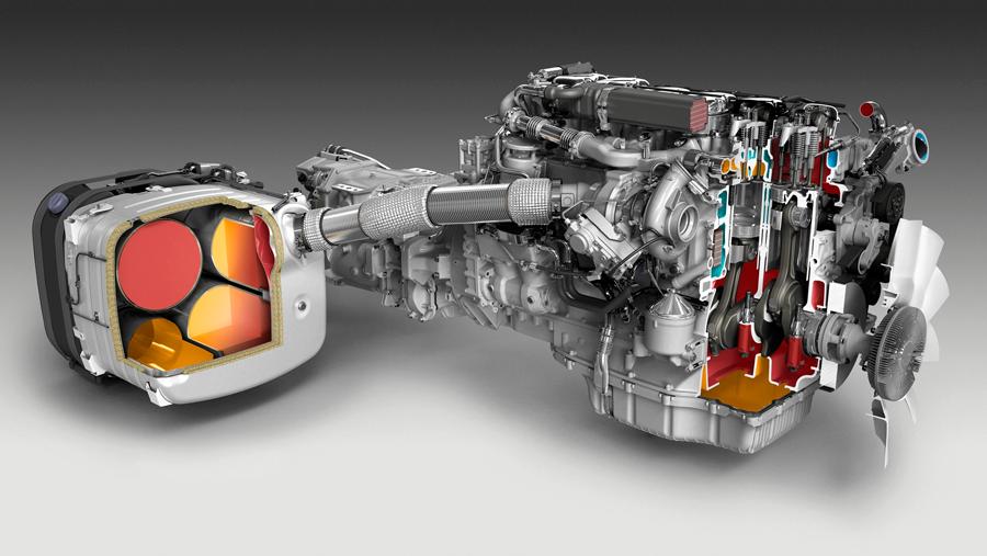 3D-produktion av Scaniamotor