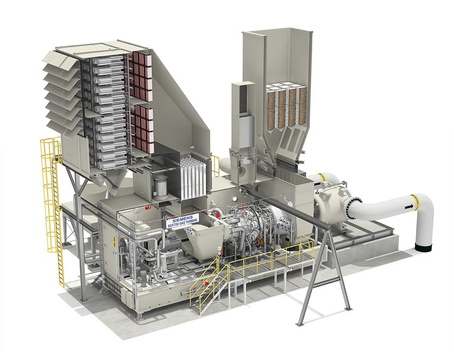 3D-produktion av gasturbin till Siemens